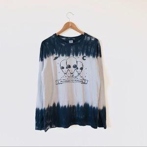 Hype Means Nothing Ombre Alien Graphic Tee